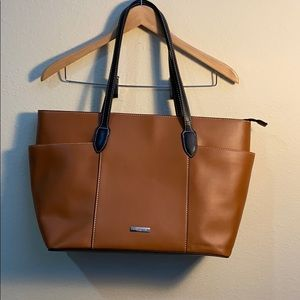 London Fog shoulder tote